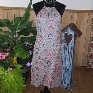 SILK BURBERRY DRESS MADE IN ITALY SZ8
